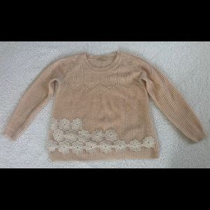 Everleigh sweater from Antropologie